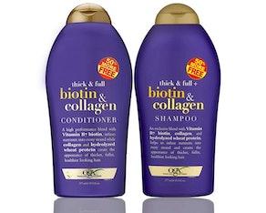 OGX Biotin & Collagen Shampoo And Conditioner