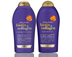 OGX Biotin & Collagen Shampoo And Conditioner