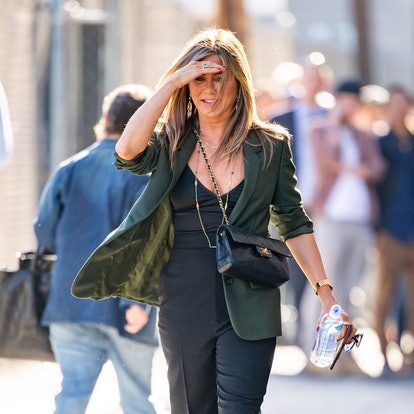 Jennifer Aniston is seen on May 29, 2019 in Los Angeles, California.