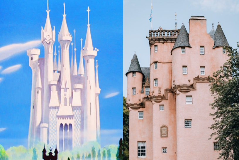 9 Disney Princess Castles Inspired By Real Life Places That Are Bibbidi Bobbidi Beautiful