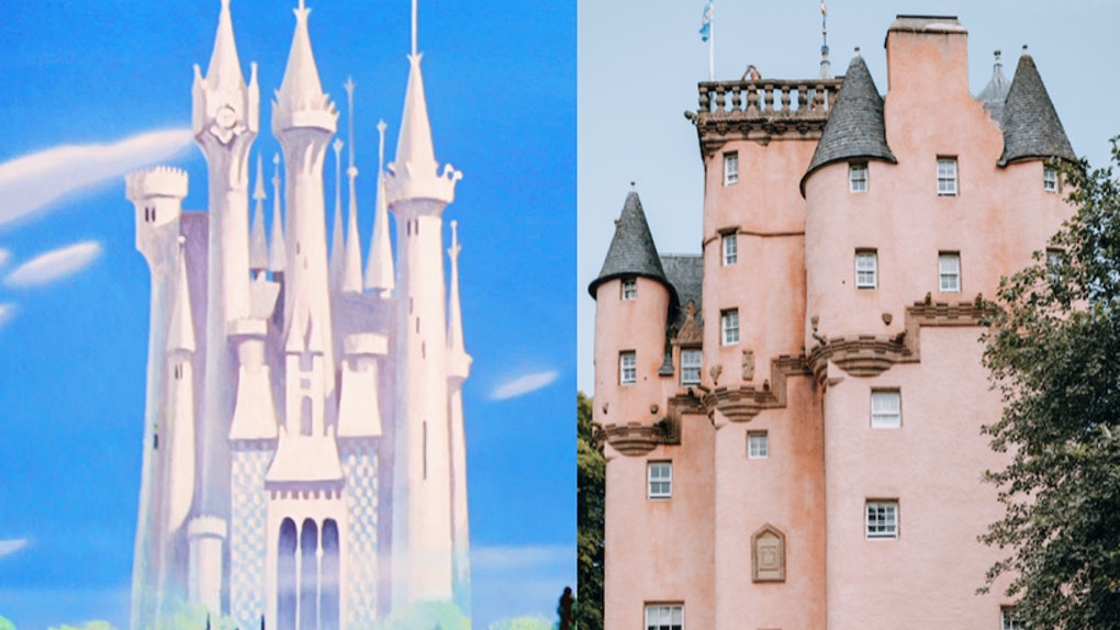 9 Disney Princess Castles Inspired By Real Life Places That