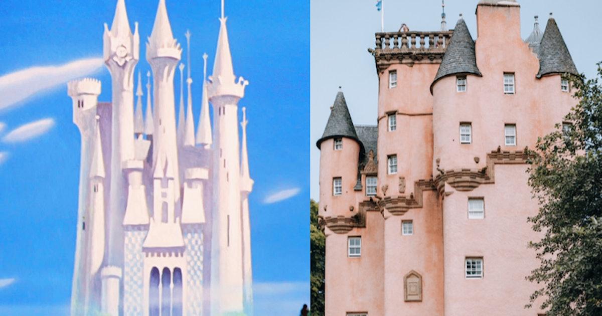9 Disney Princess Castles Inspired By Real Life Places That Are Bibbidi Bobbidi Beautiful