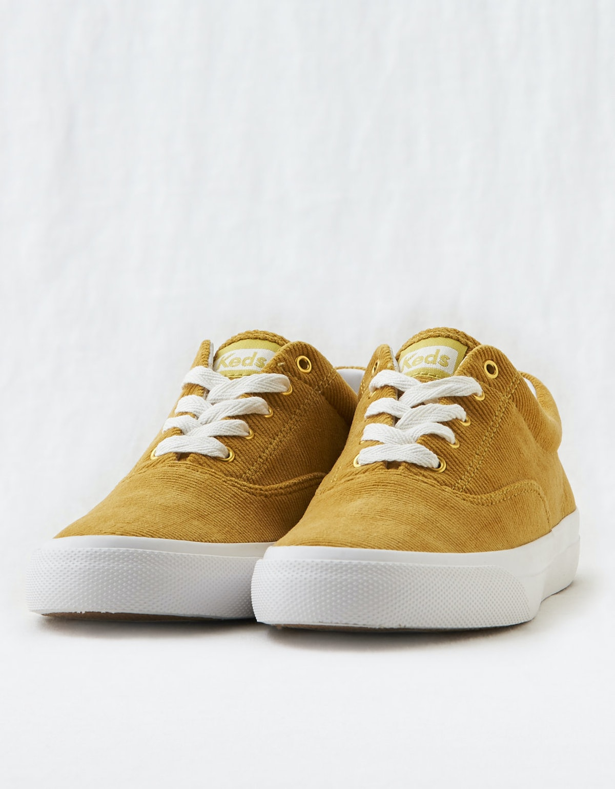 "Keds Corduroy Sneakers in ""Yellow"""