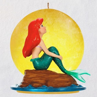 Disney The Little Mermaid Part of Your World Musical Ornament With Light