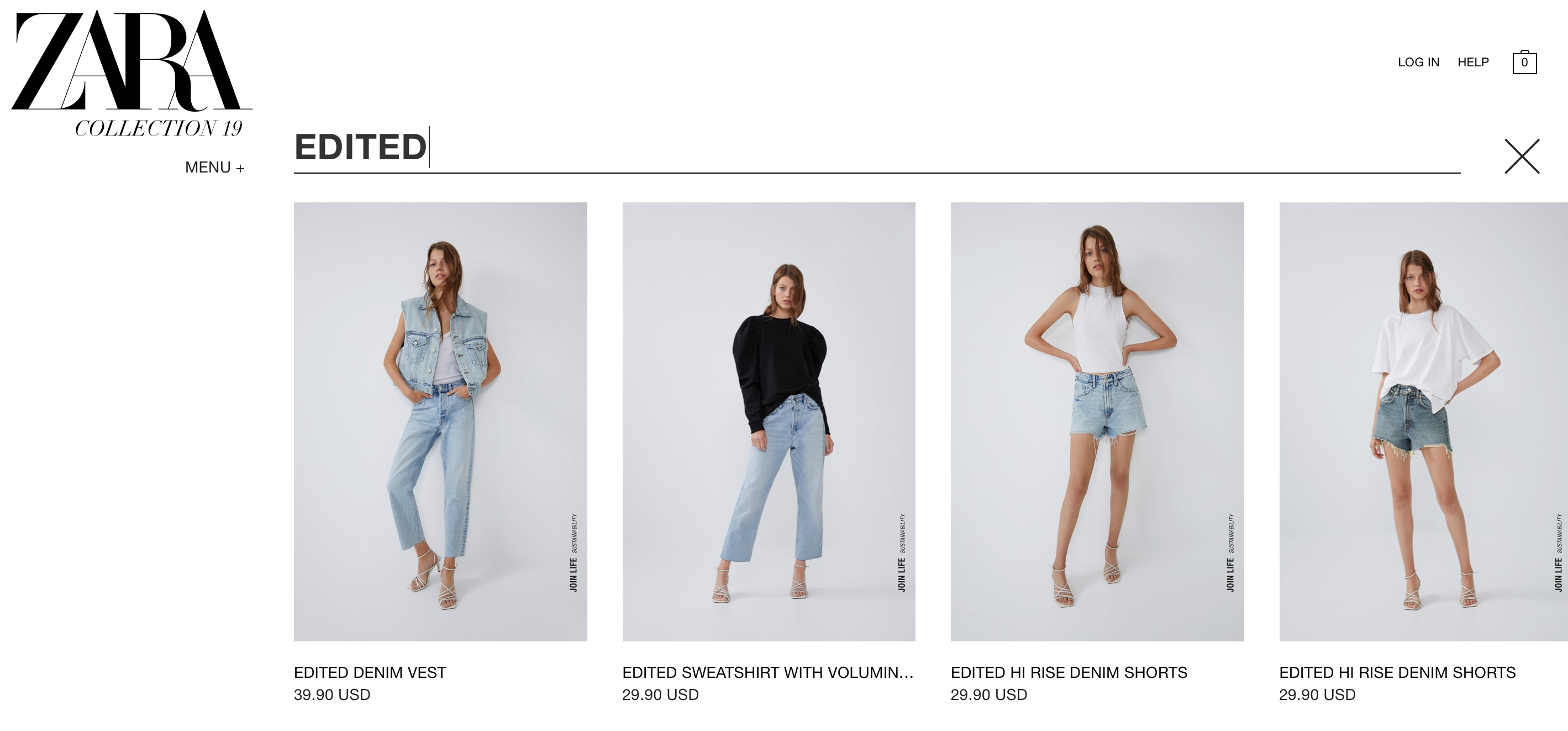 525ce6f5 Zara's Edited Collection Allows You To Customize Your Denim At No ...