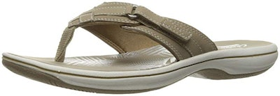 Clarks Women's Breeze Sea Flip-Flop