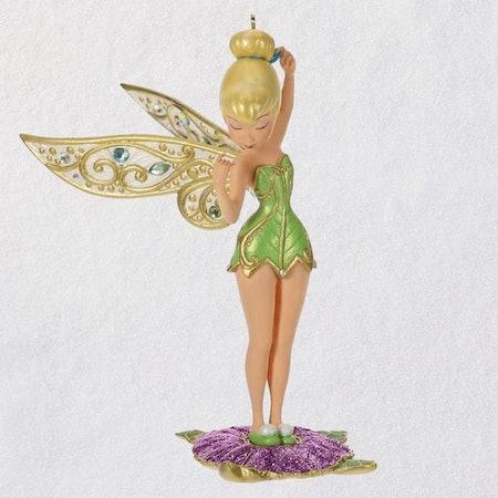 Disney Peter Pan Tinker Bell Metal Ornament