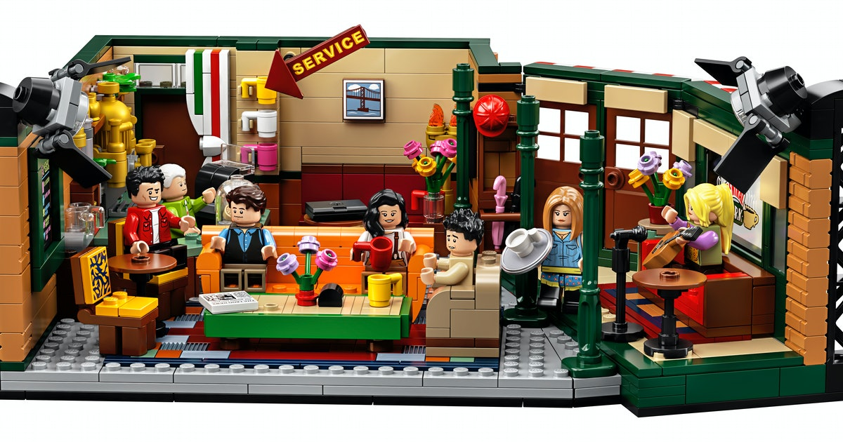 This 'Friends'-Themed LEGO Set Will Be There For You When The Rain Starts To Pour