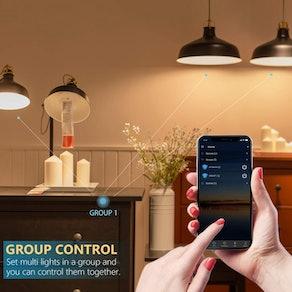 BERENNIS Smart Light Bulb (Pack of 3)