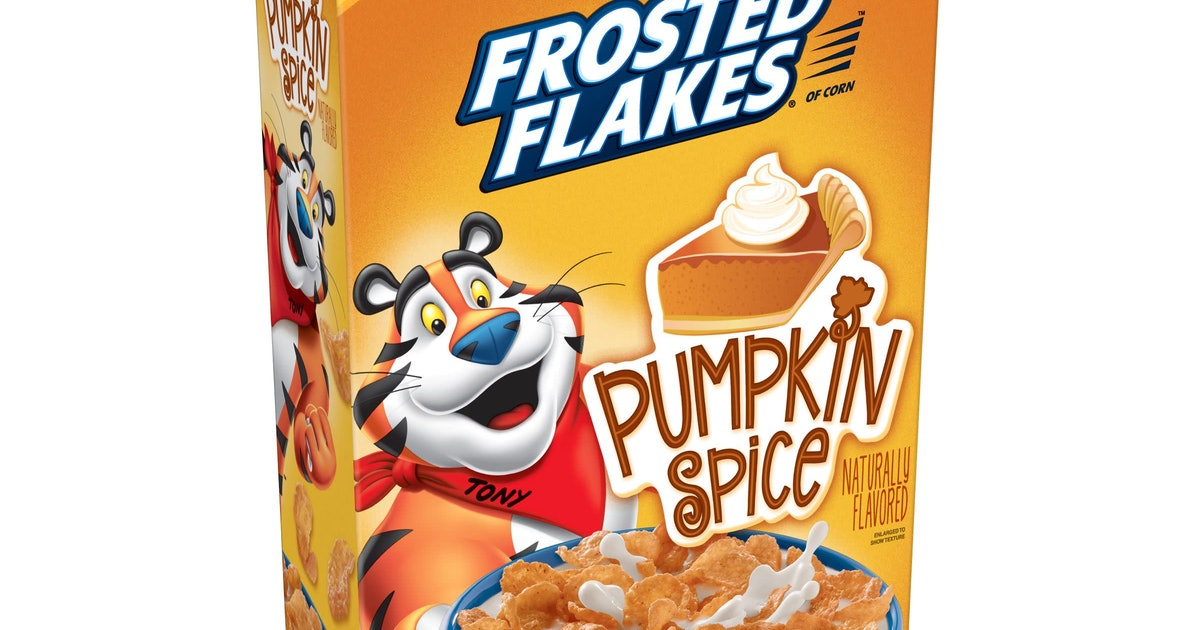 Pumpkin Spice Frosted Flakes Are Back & They Taste Just Like Fall