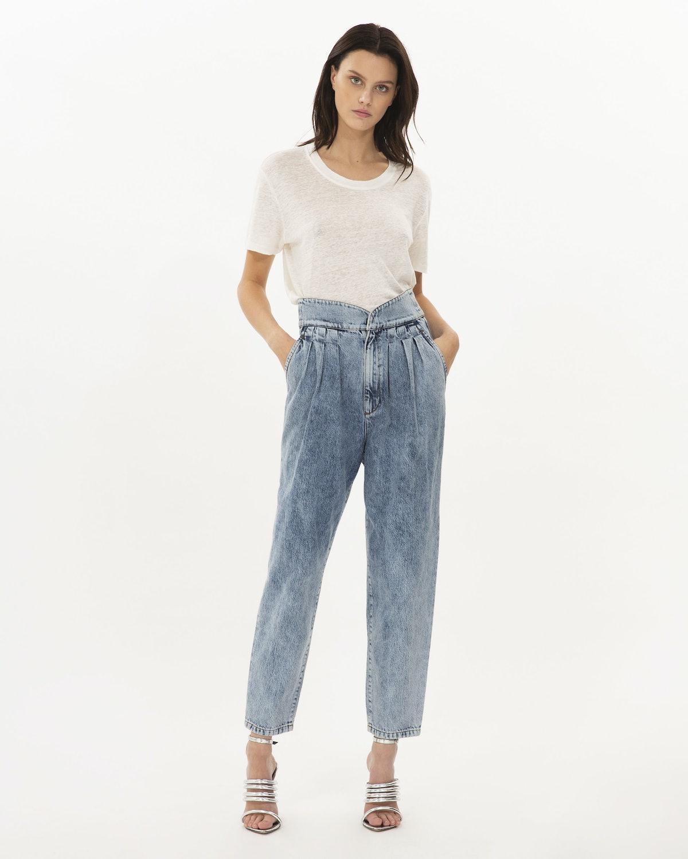 Staunch Pleated Denim Pants