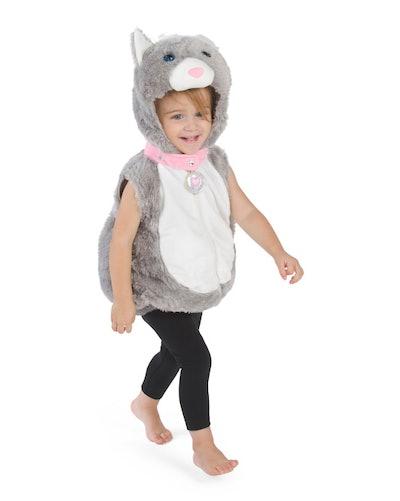 Baby Kitty Plush Bubble Costume