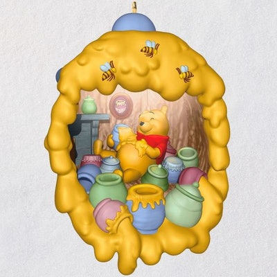 Disney Winnie the Pooh Home Is Where the Hunny Is Ornament With Light