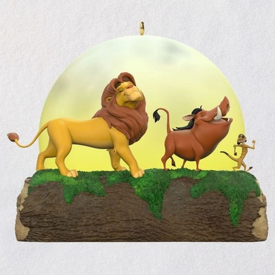 Disney The Lion King 25th Anniversary Musical Ornament With Light