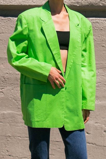 Vintage Lime Blazer