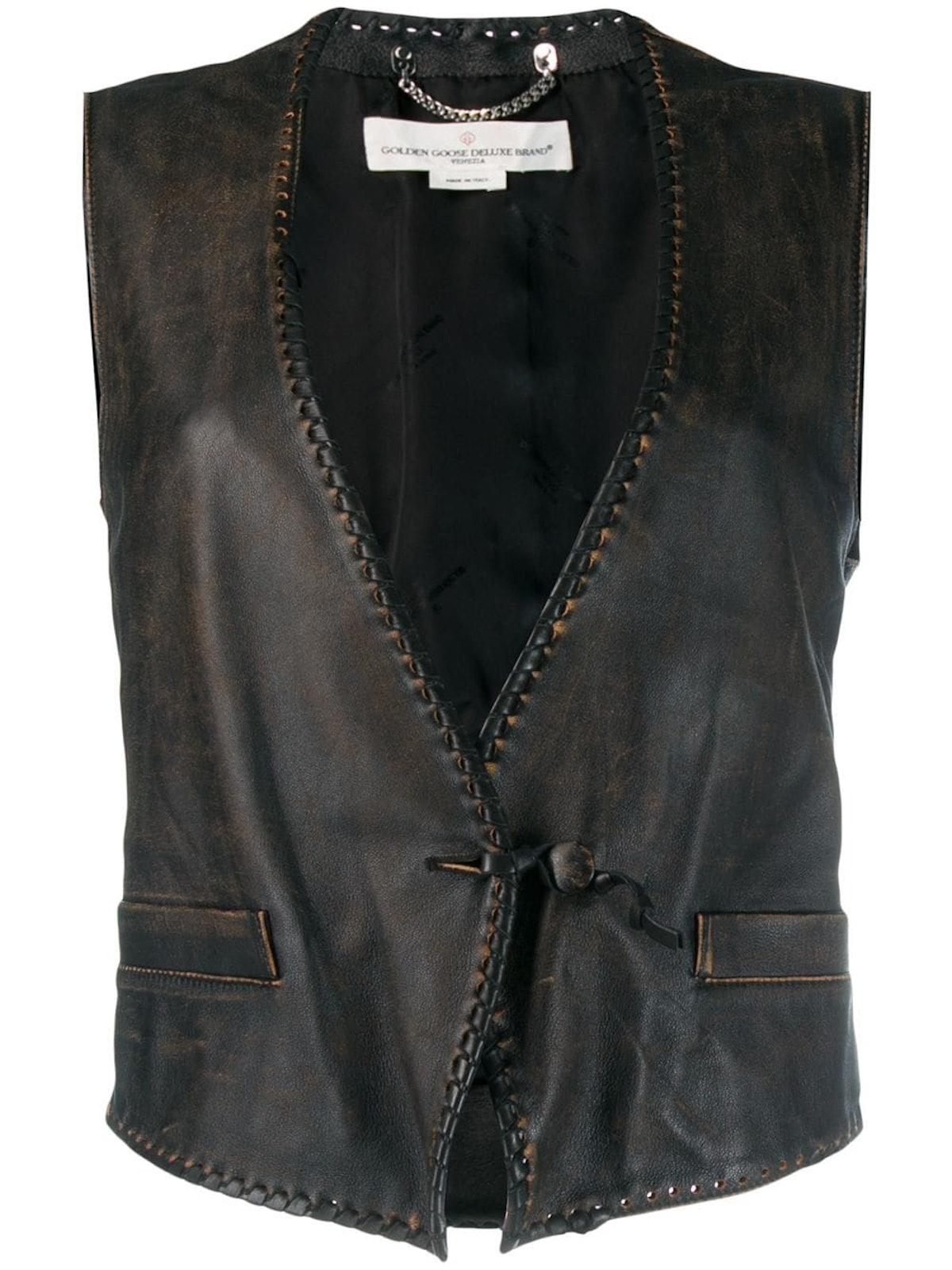 Shiori Leather Vest