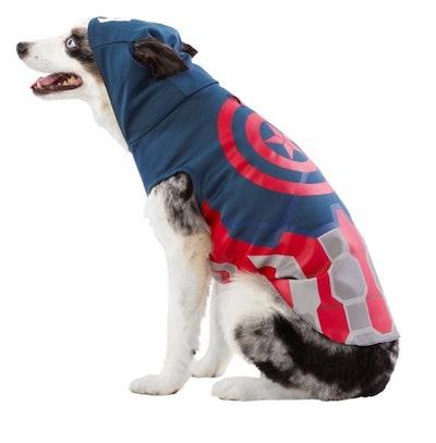 Marvel Comics Captain America Pet Costume