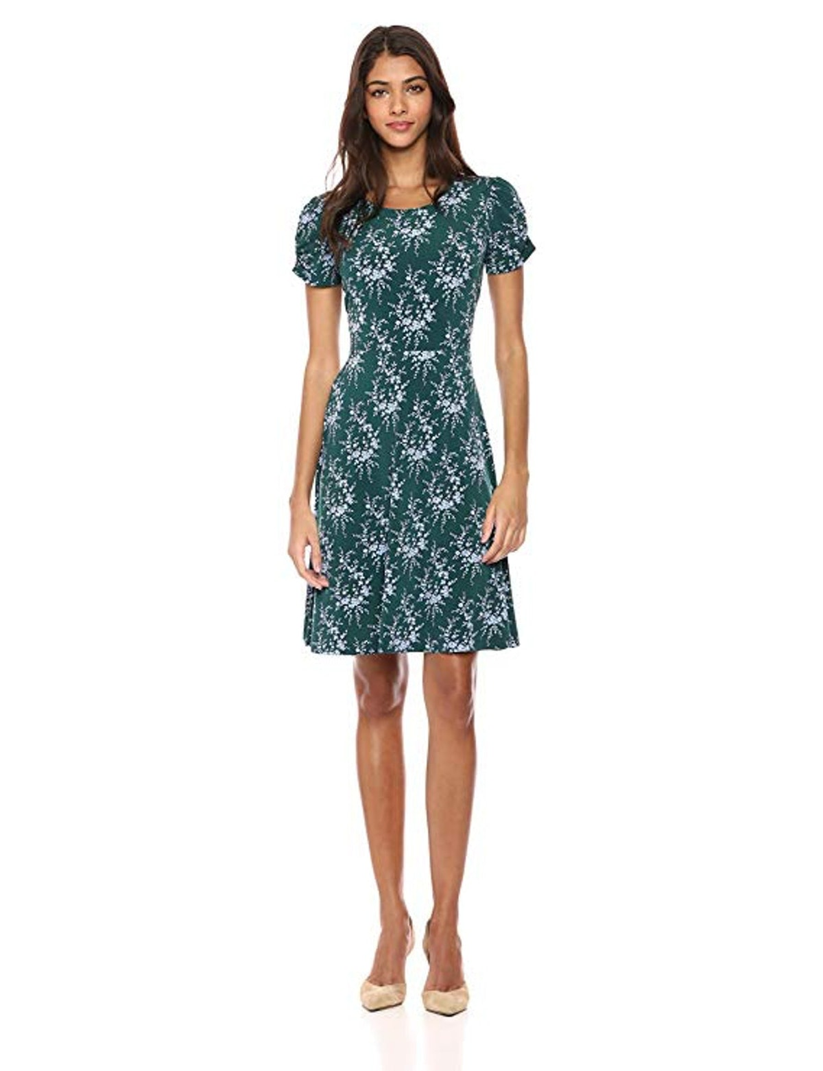 Lark & Ro Knit Fit and Flare Dress