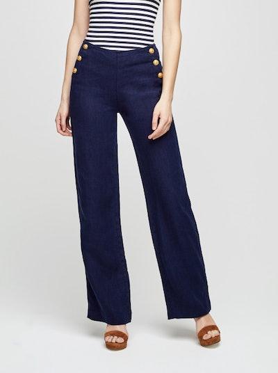Dee Linen Sailor Pants