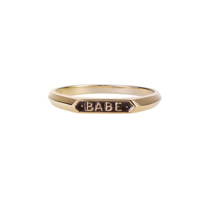 Babe Signet Ring