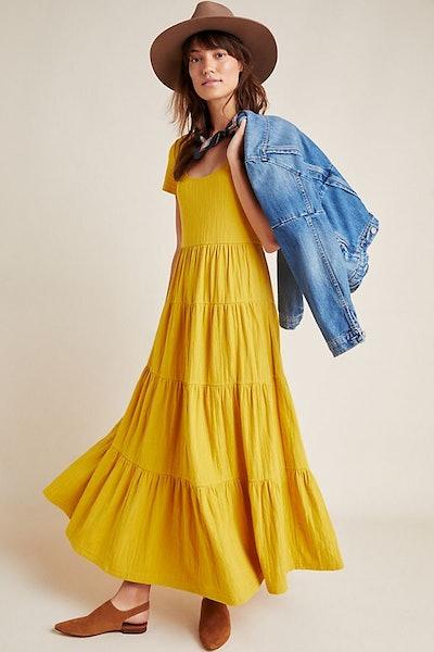 Gillian Tiered Maxi Dress