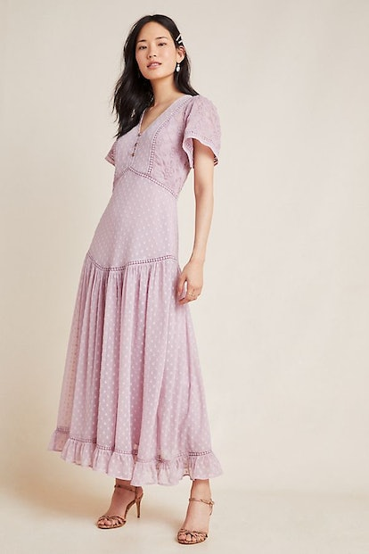 Knightley Embroidered Maxi Dress
