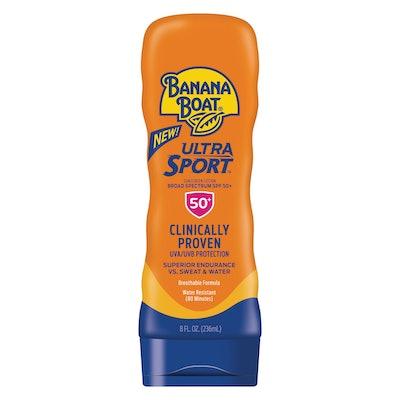 Banana Boat Ultra Sport Sunscreen Lotion SPF 50+