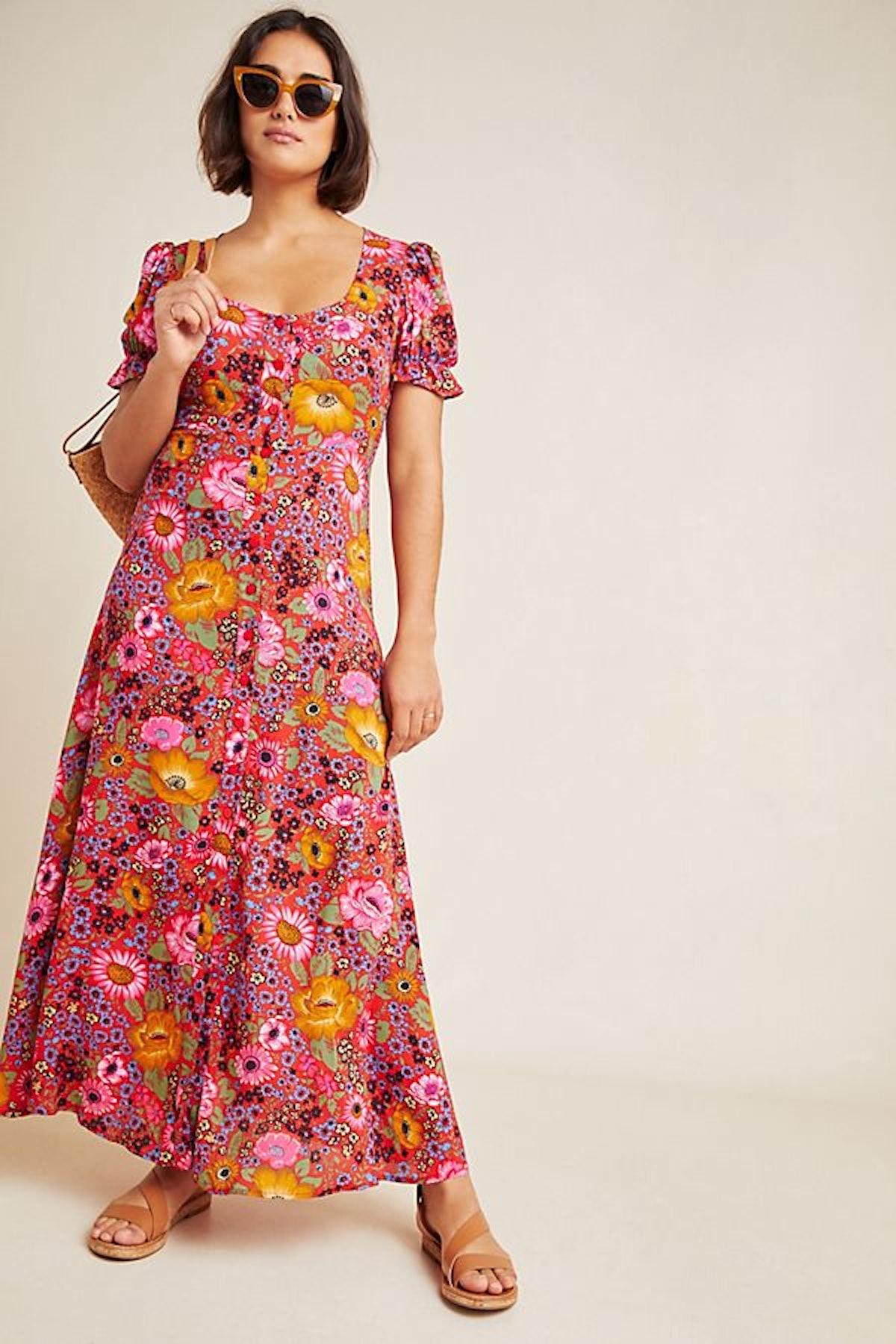 Laurel Canyon Button-Front Dress