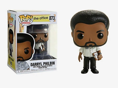 Funko Pop! The Office Darryl Philbin Vinyl Figure