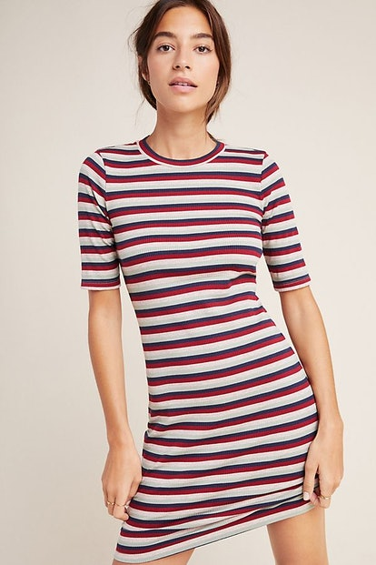 Stateside Ribbed Tee Dress