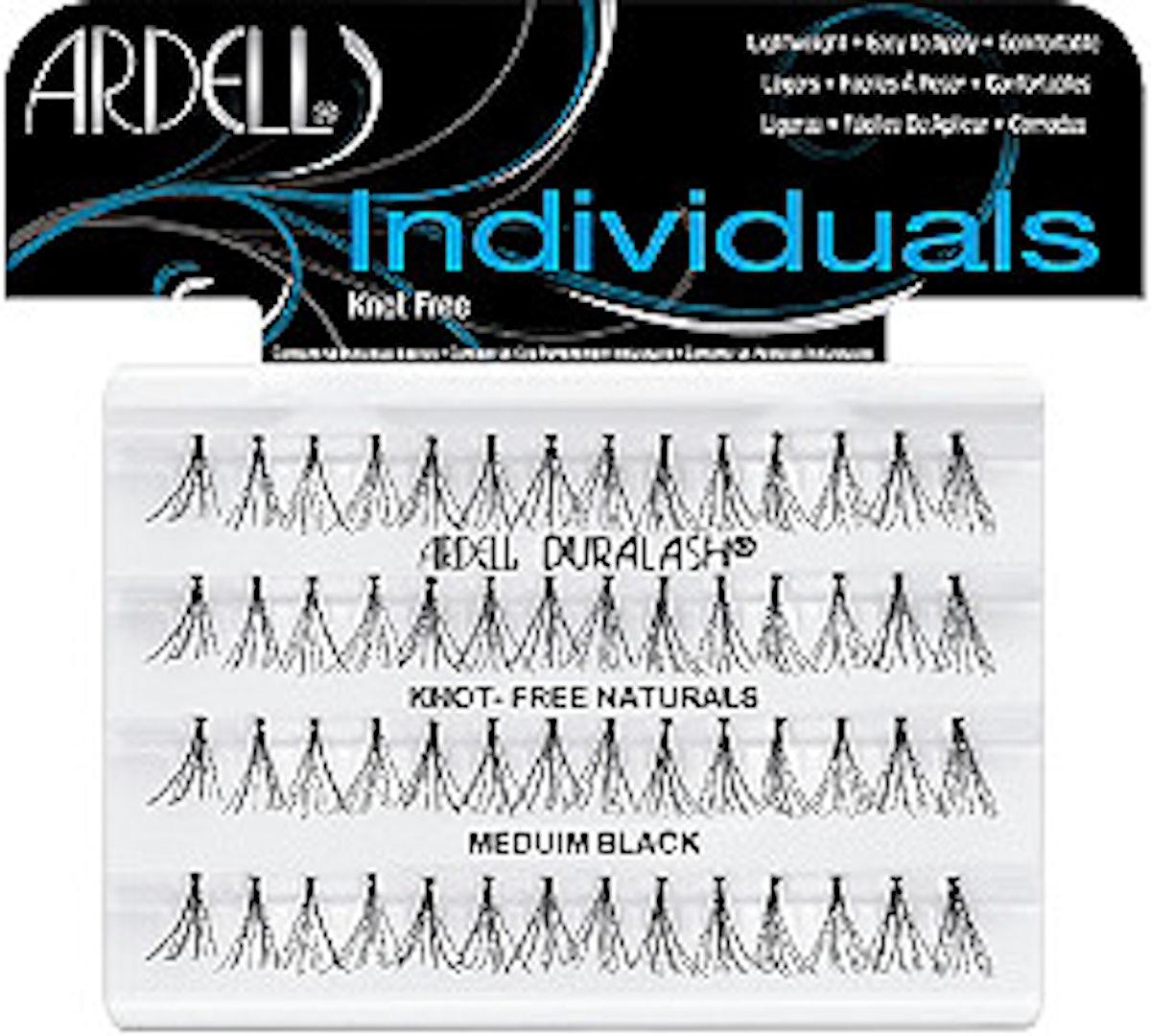 Individuals Medium Black Lashes