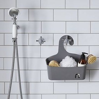 Grey Large Shower Caddy
