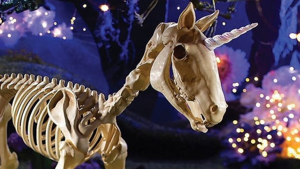Oriental Trading S Unicorn Skeleton Is This Year S Most