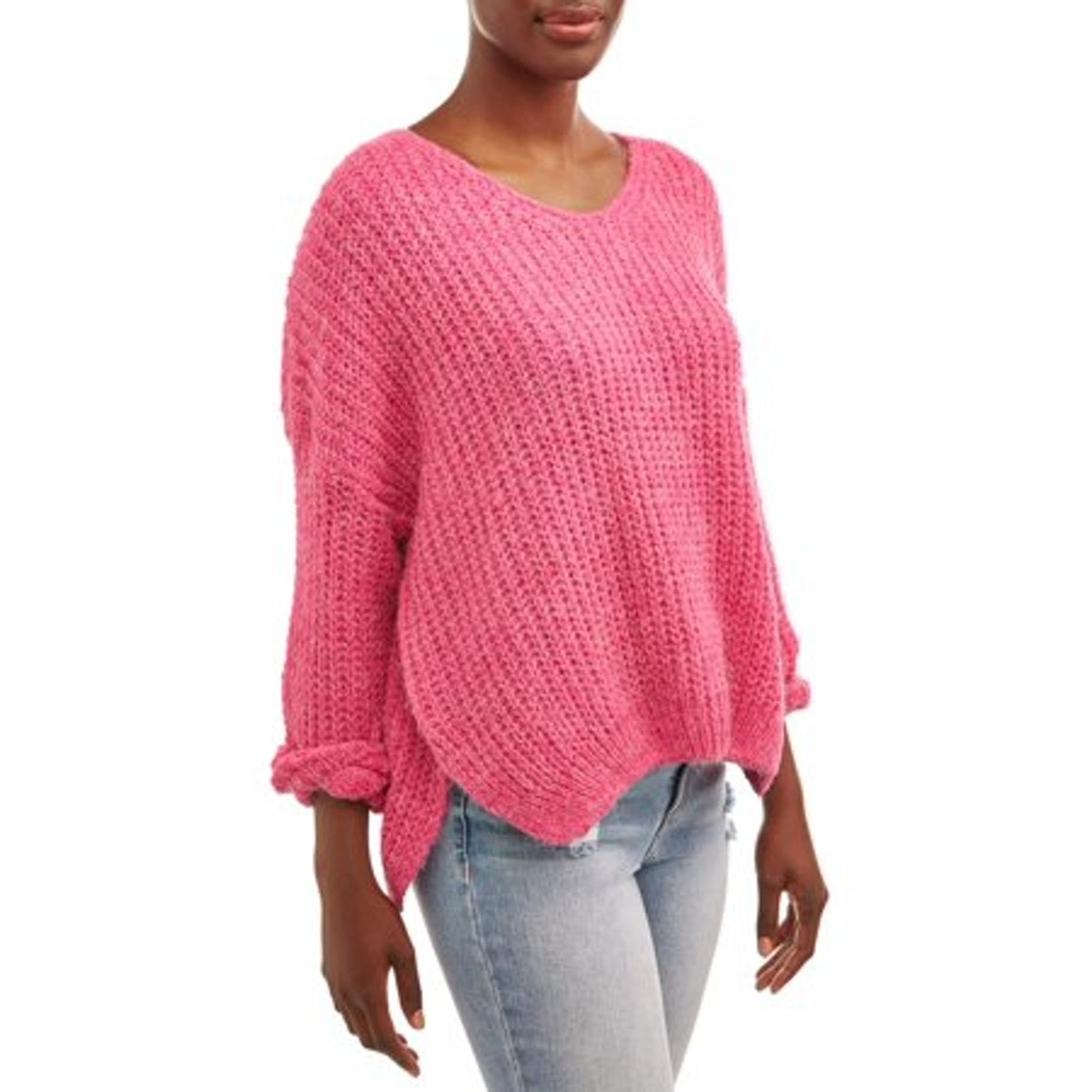 Dreamers by Debut  Women's V-Neck Pullover Sweater