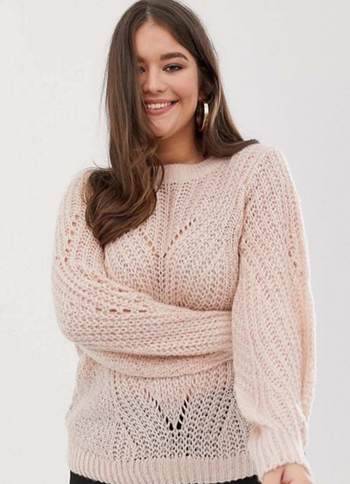 Vero Moda Curve Chunky Knitted Sweater