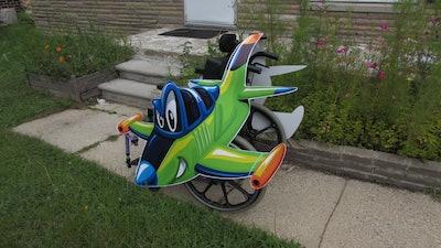 Rolling Buddies Fighter Jet Wheelchair Costume