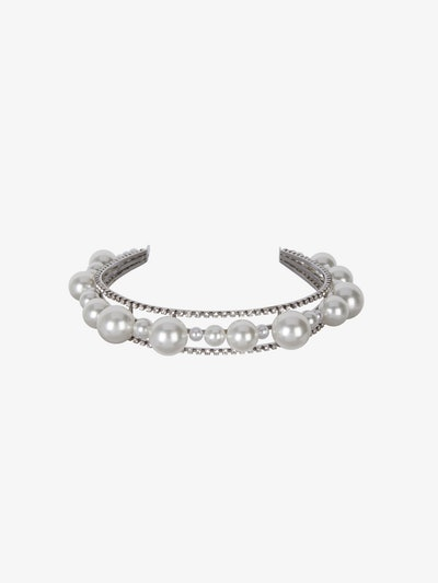 Ariana Headband In Pearls And Crystals