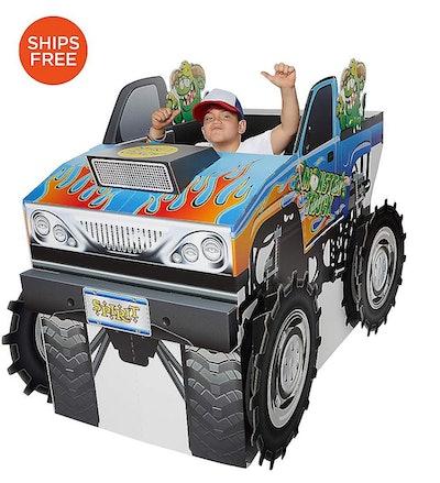 Monster Truck Wheelchair Costume