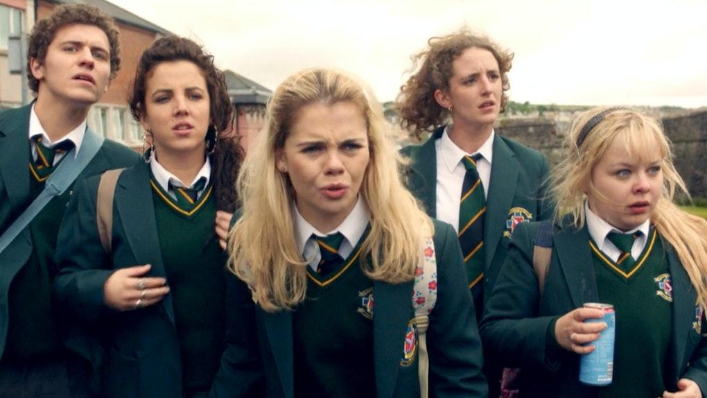 Cast of 'Derry Girls'
