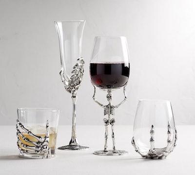 Skeleton Glassware