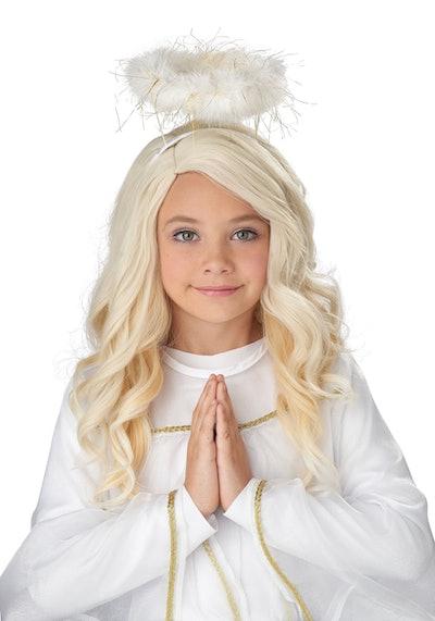 Girls Guardian Angel Wig