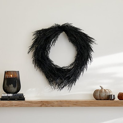 Black Pine Wreath