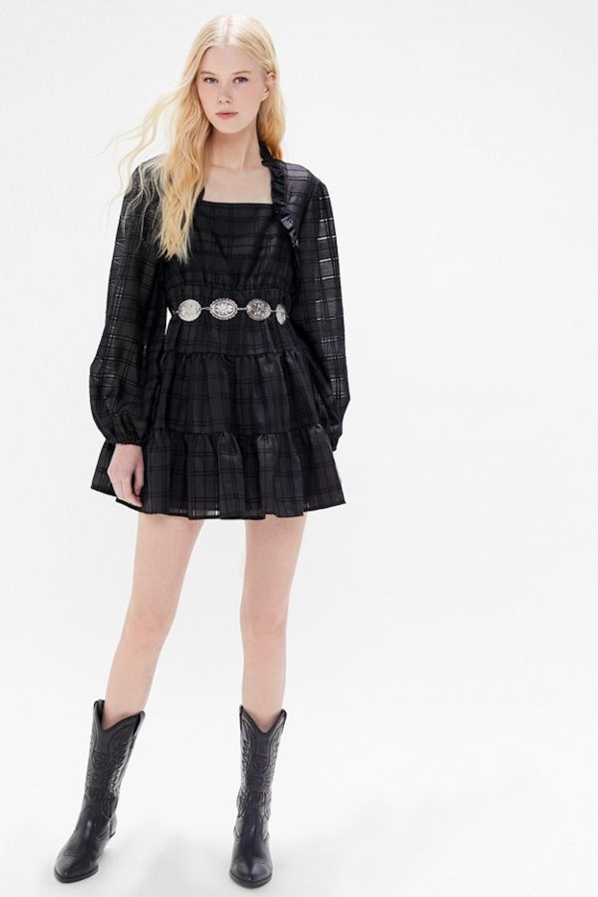 C/meo Collective Refresh Tiered Ruffle Mini Dress