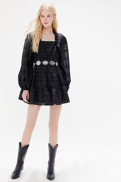 C/meo Collective Refresh Tiered Ruffle Mini Dress