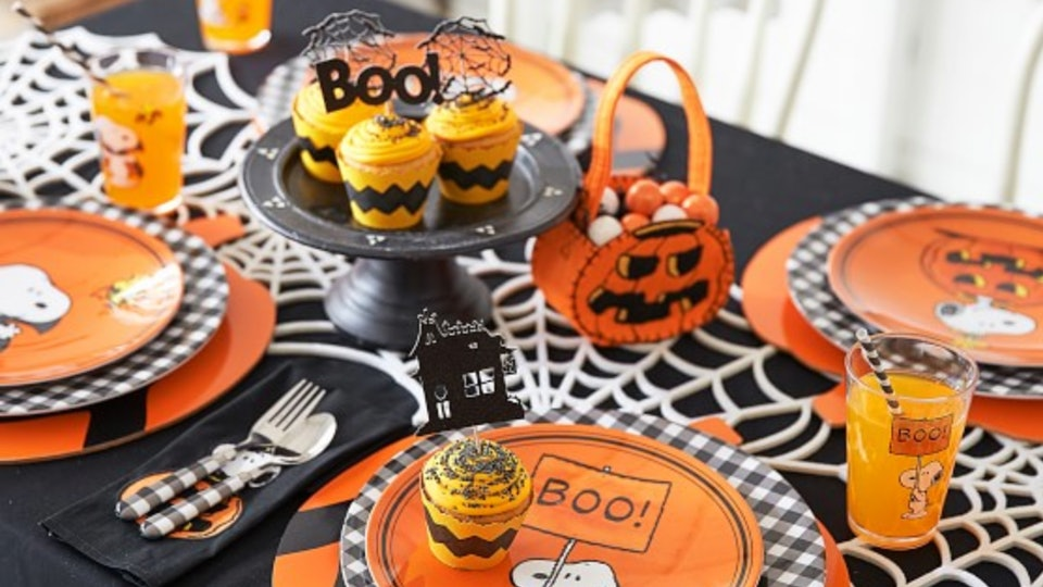Pottery Barn Kids Charlie Brown Halloween Collection Is