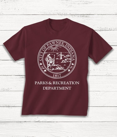 Parks and Rec Youth T-shirt, City of Pawnee Symbol