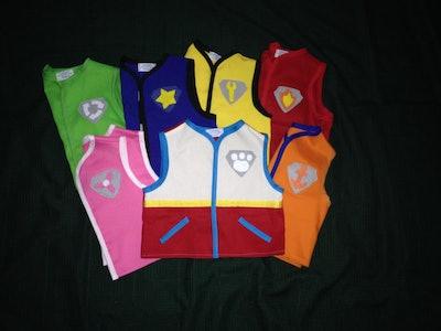 Adult Paw Patrol Vests