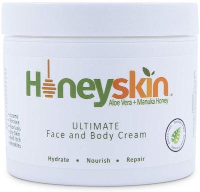 Honeyskin Organics Face & Body Cream Moisturizer