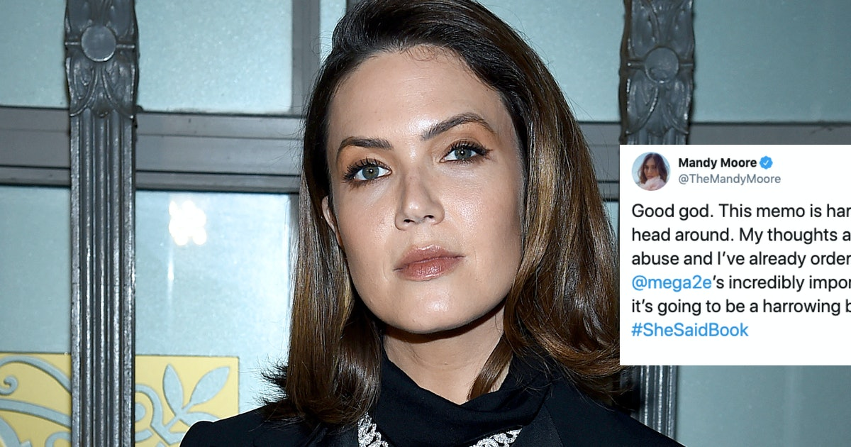 Mandy Moore's Reaction To Lisa Bloom's Harvey Weinstein Memo Is All About Supporting Victims