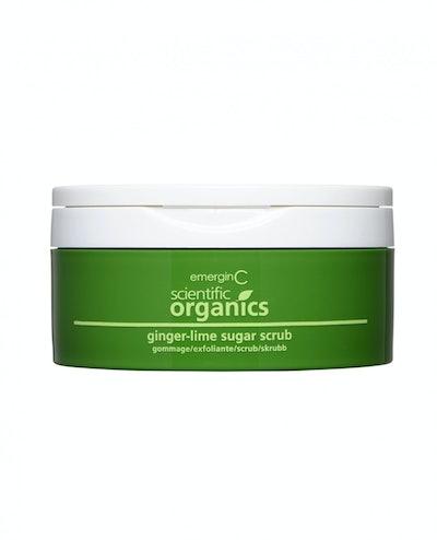 Ginger-Lime Sugar Scrub